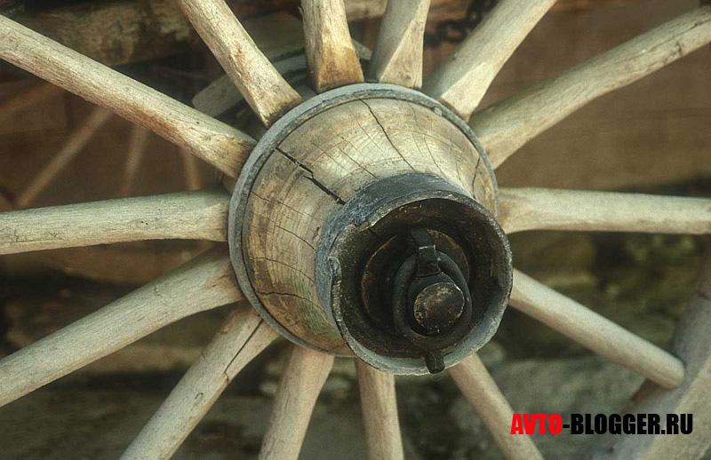 колесо со спицами