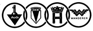 Изначальный значек AUDI