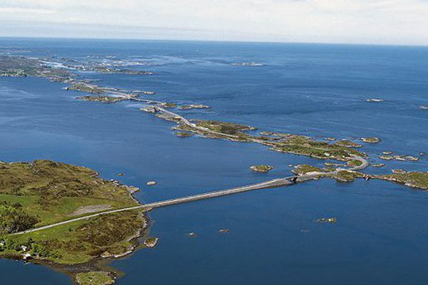 Атлантический океан. ДОРОГА  в Норвегии. рис3.