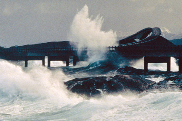 Атлантический океан. ДОРОГА  в Норвегии. рис4.