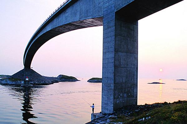 Атлантический океан. ДОРОГА в Норвегии. рис5.
