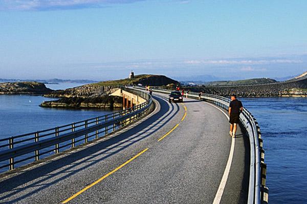Атлантический океан. ДОРОГА  в Норвегии. рис6.