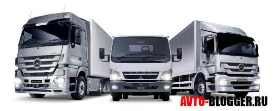 Современные грузовики