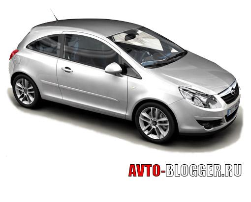Opel corsa 3-дверный хетчбек