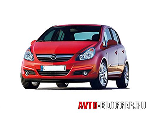Opel corsa 5-дверей