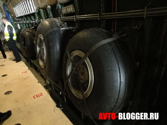 Запасные колеса для шасси