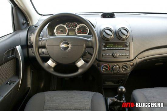 Chevrolet Aveo. Салон
