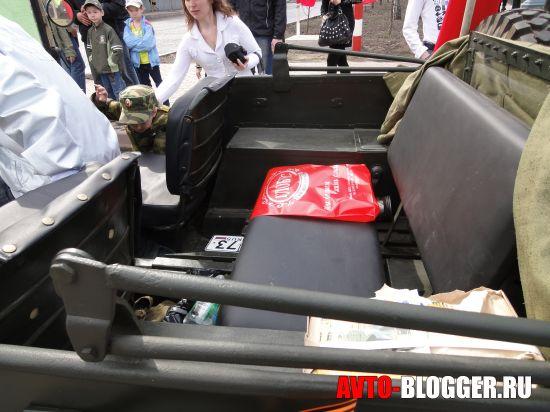 задний диван ГАЗ-67