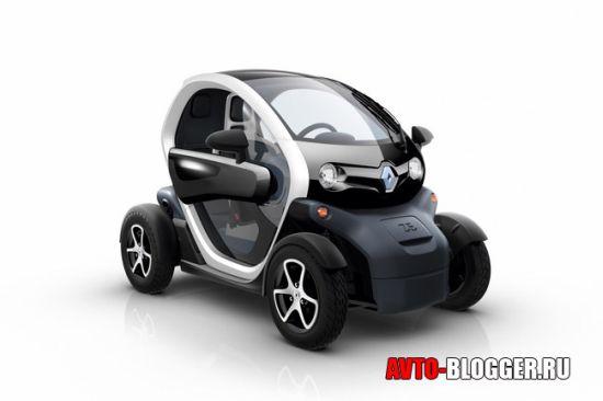 Renault Twizy передняя часть