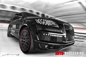 Audi Q7. Тюнинг Kahn.