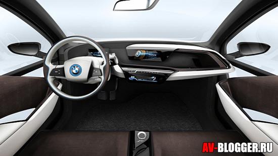 Руль BMW I3