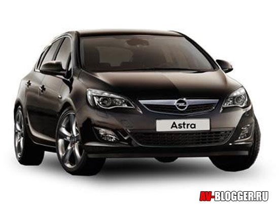 Кузов нового Opel Astra