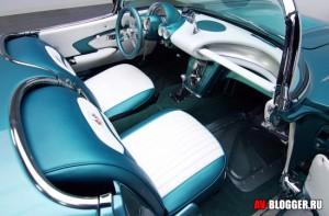 Chevrolet Corvette, салон