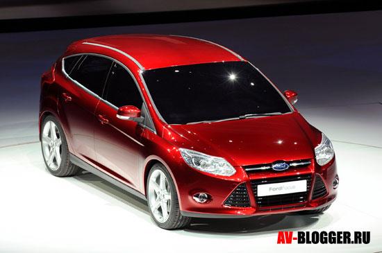 Кузов нового Ford Focus 3