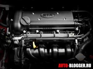 Новый Kia Rio, двигатель