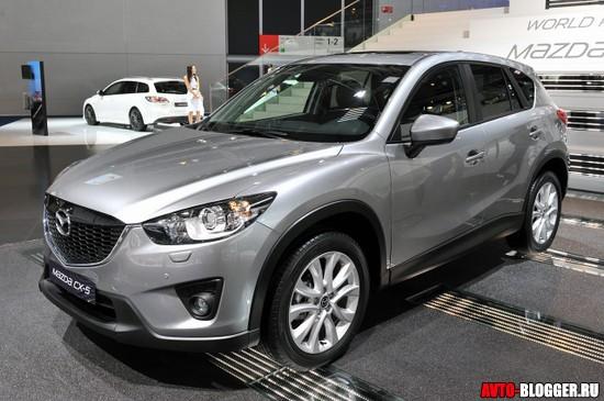 Mazda боковая часть