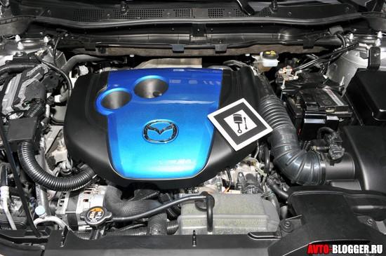 Двигатель SKYACTIV
