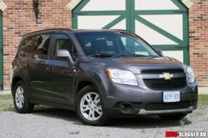 Chevrolet Orlando 2011 - 2012, фото 1