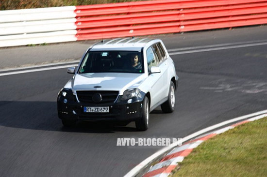 Mercedes GLK кузов