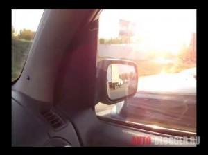 Соседние автомобили на нормальном удалении, (фото зеркала)