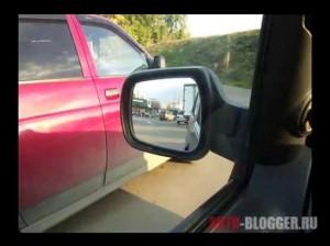 Соседние автомобили на нормальном удалении, (фото слева)