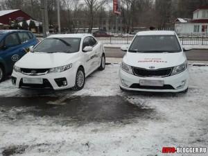 Kia Rio и Kia Cerato koup, фото 2