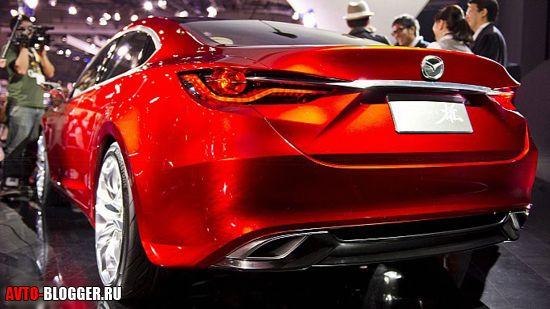 Mazda Takeri задняя часть