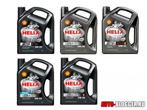 Shell Helix Ultra, марки масел