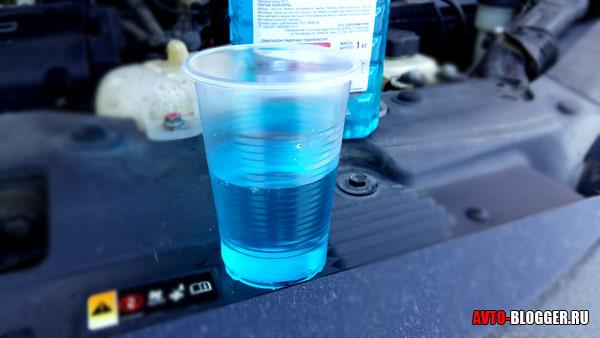 синий антифриз - ТОСОЛ