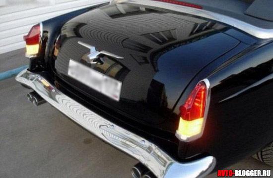 фары и чайка на багажнике
