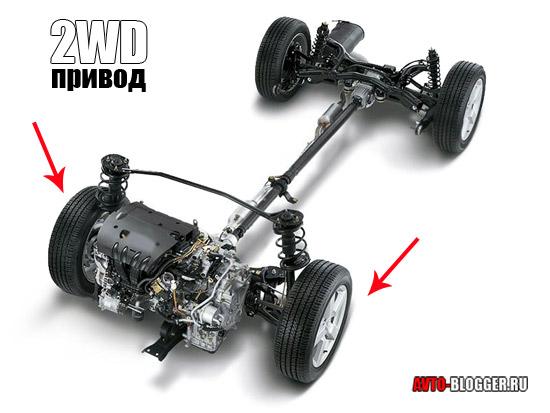 2WD привод