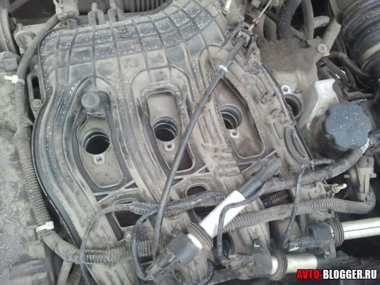 двигатель пустой