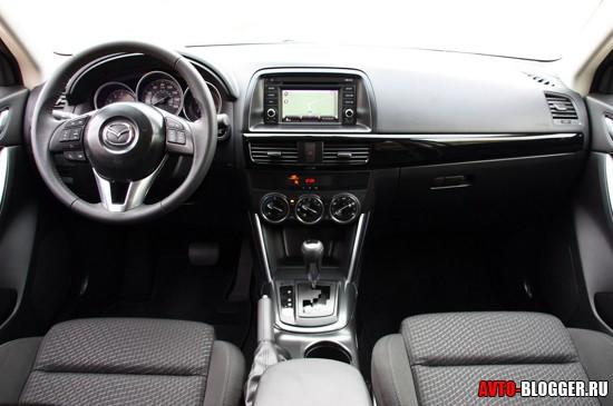 Mazda CX-5 салон