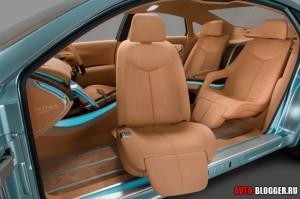 Nissan Intima, салон, фото 16