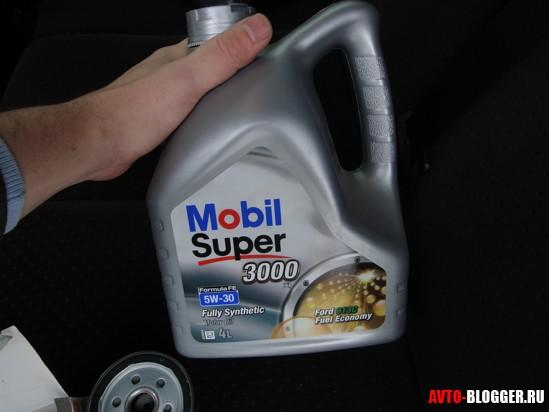 масло MOBIL 1 для FORD FUSION