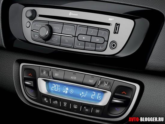 аудио система и климат-контроль
