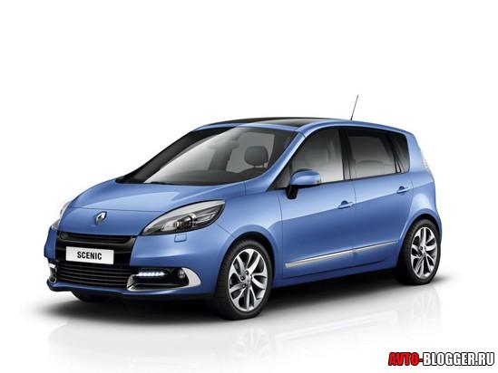 Renault Scenic 2012 кузов