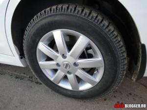 Nissan Tiida, колеса