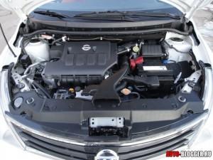 Nissan Tiida, двигатель, фото 1