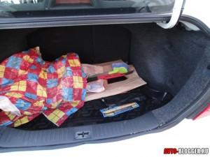 Nissan Tiida, багажник, фото 2