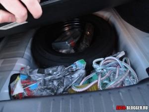 Nissan Tiida, багажник, фото 3