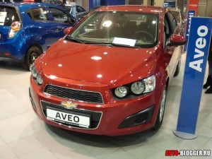 Chevrolet AVEO 2012, фото 1