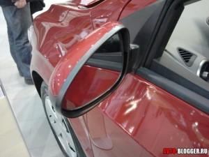 Chevrolet AVEO 2012, боковые зеркала