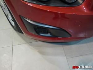 Chevrolet AVEO 2012, в этой комплектации противотуманок нет