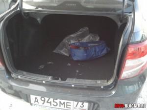 Lada Granta, багажник, фото 2