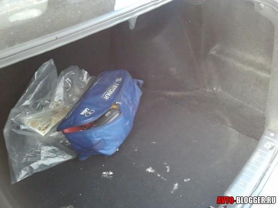 большой багажник