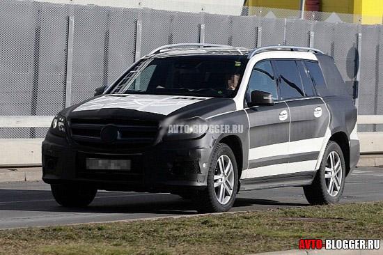 Mercedes GL 2013 кузов