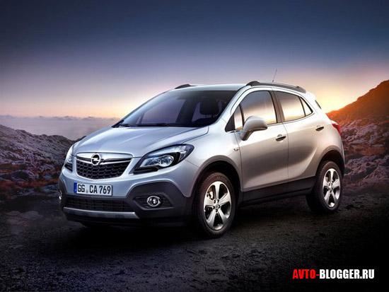 Opel Mokka кузов