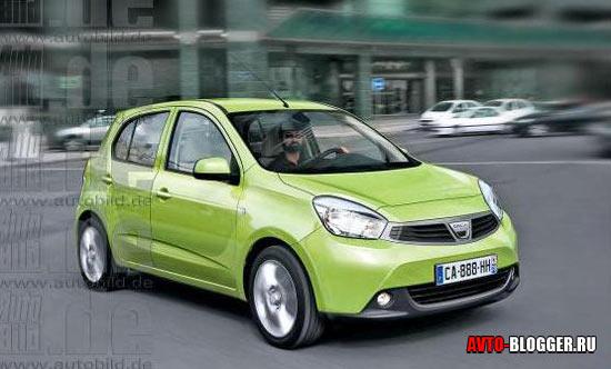 Dacia Citadine кузов