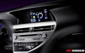 Lexus RX 2013, салон фото 2